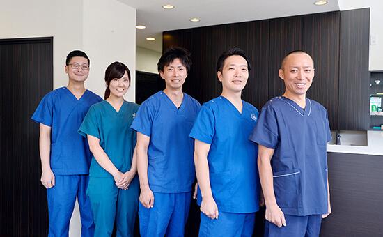 関連治療もトータルでサポートできるチーム医療体制