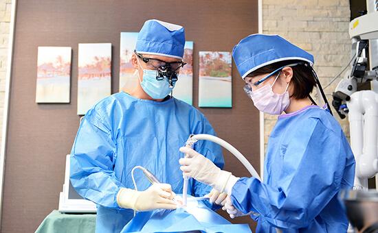 滅菌を徹底した手術室