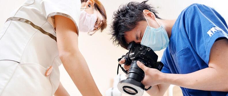 技術複数の専門医によるチーム医療体制