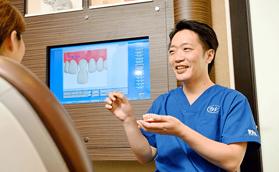 ウィズ歯科クリニックのインプラントオーバーデンチャーの特長