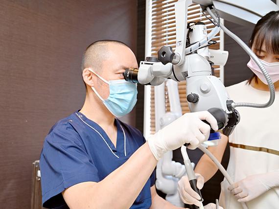 技術・接遇の追求 -患者様満足から患者様感動へ-
