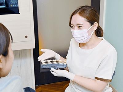 ウィズ歯科クリニックのホワイトニングの特徴